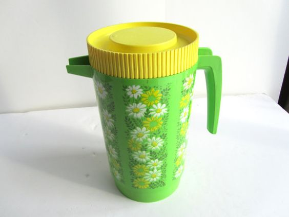 Alladinware Green Plastic Pitcher on Etsy, $12.00