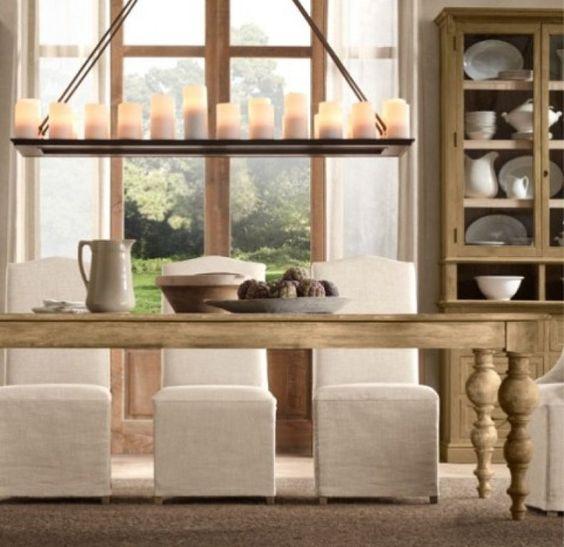 mesas decapadas blancas - Buscar con Google | Ideas para el hogar ...