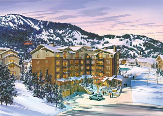 SNOW Magazines List; 5 Chic Places to Stay in Jackson Hole: Jackson Hole Terra Hotel