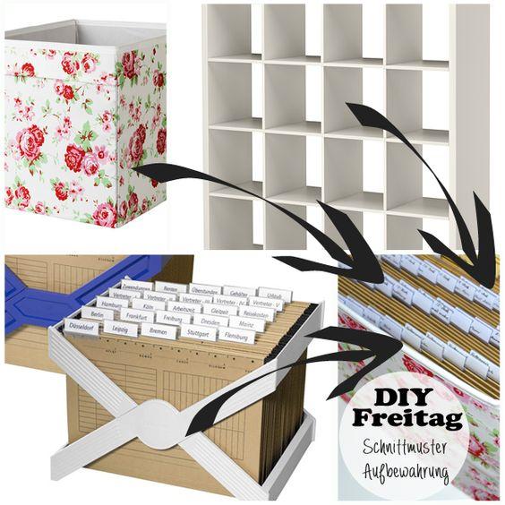 diy freitag schnittmuster aufbewahrung alles n hbar selber machen und ikea. Black Bedroom Furniture Sets. Home Design Ideas