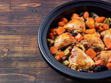Settle In With A Warm Bowl Of Slow Cooker Beef Tagine Recipe Beef Tagine Beef Tagine Recipes Tagine