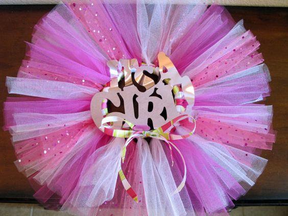baby shower decoration tutu wreath tutu wreath girl wreath baby wreath
