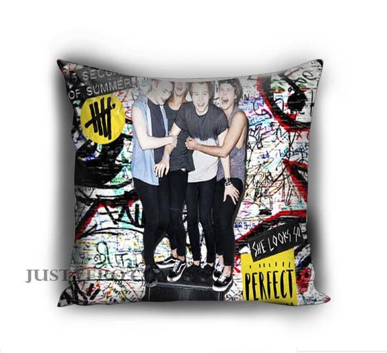 Personalized 5 seconds of summer 5sos Pillow case