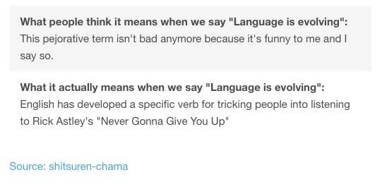18 Tumblr Posts For People Who Are Slightly Obsessed With Language Language Nerdy Humor Tumblr Funny