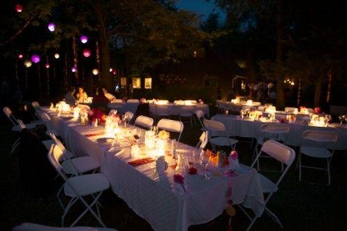 Real Weddings Jill Les Diy Wedding Reception And
