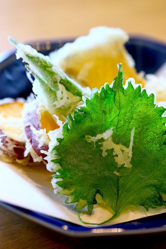 飯テロ・大葉の天ぷら