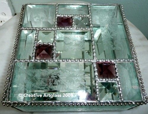 Re-pin this Stained Glass Jewelry Box for a chance to win it! You have from Monday through Friday morning at 8 am Mountain time (02/17/12), then we will pick a winner for one of this week's items. *****Be sure to re-pin from the ArtFire pin so your entry is counted!*****