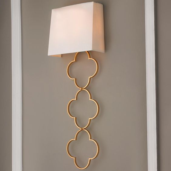 Small Half Shades For Wall Lights : Quatrefoil, Shades and Hotels on Pinterest