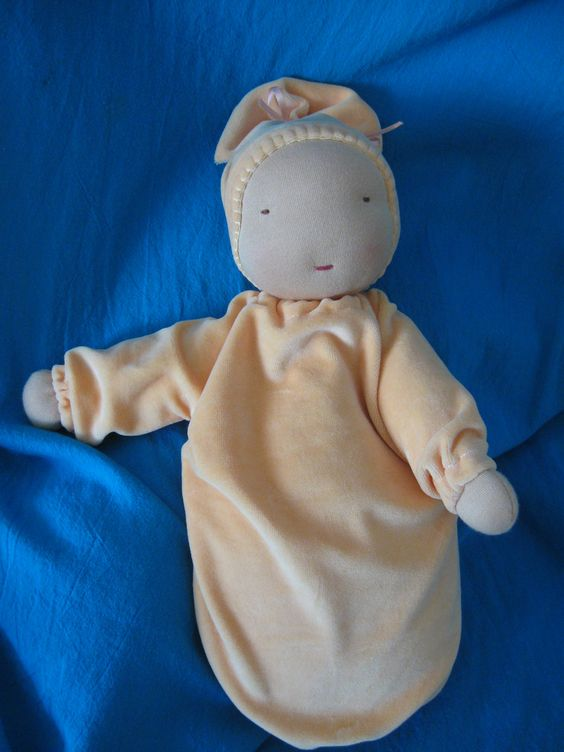 Waldorf - Sweet Baby Doll  (other colors available). $85.00, via Etsy.