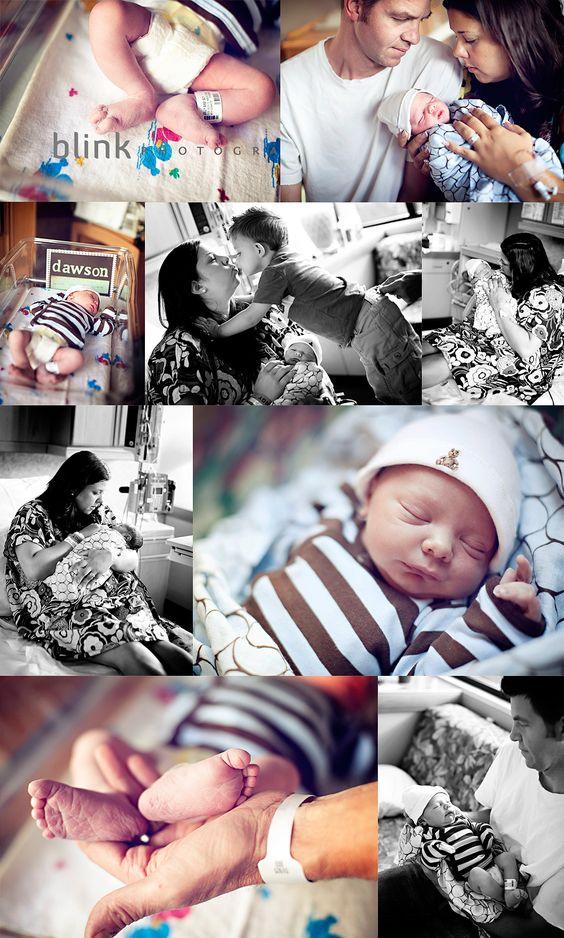 Hospital newborn shoot=LOVE
