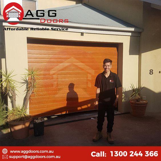 Panel Door Installation At Werribee By Seb And Trav Door Type B D Panelift Icon Paneldoors Ga Shutter Installation Garage Door Installation Garage Doors