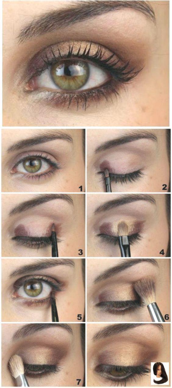 Beginners Eye Eye Makeup For Brown Eyes Step By Step Eye
