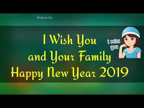 Happy New Year Whatsapp Video Status 2019 Download Short