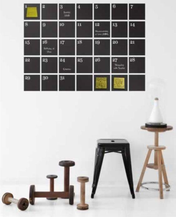 Adesivo calendário - R$65