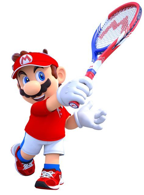Mario From Mario Tennis Aces Illustration Artwork Gaming Videogames Characterdesign Mario Mario Art Mario Cosplay