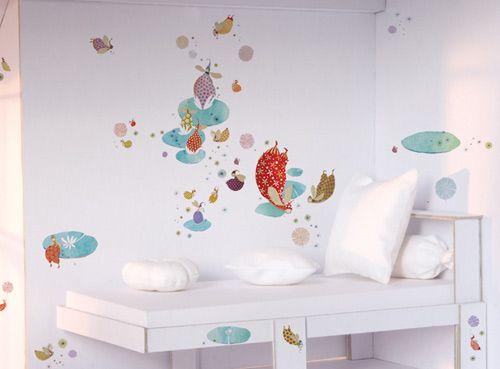 Wall stickers: elves. E se vi fossero le fatine stesse a cullare il sonno del vostro bambino ...