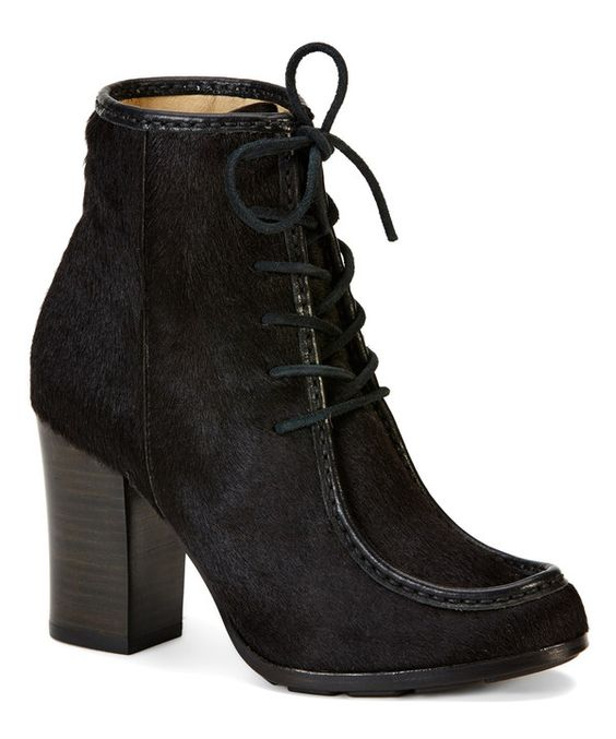 Look at this Black Parker Moc Short Leather Boot on #zulily today!