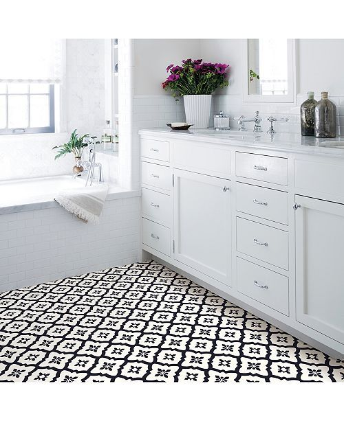 Brewster Home Fashions Comet Peel And Stick Floor Tiles Reviews Wallpaper Home Decor Peel And Stick Floor Adhesive Floor Tiles Self Adhesive Floor Tiles