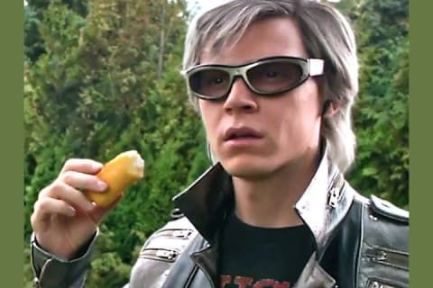 The Best Scene In Apocalypse I Love Quicksilver Evan Peters X Men Quicksilver Xmen