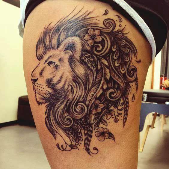 45 Best Leo Tattoos Designs Ideas For Men And Women With Meanings Leo Tattoos Leo Tattoo Designs Leo Zodiac Tattoos