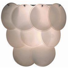 View the Trend Lighting TW6947 White Wall Sconce from the Selene Collection at LightingDirect.com.