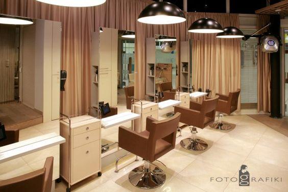 Amelia styling chairs/ Simple styling units. Salon Ideas from Ayala salon furniture. Modern salon design.