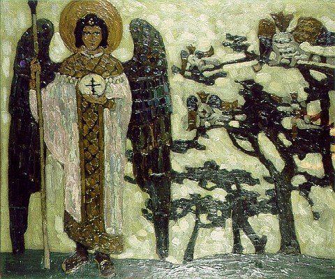 Nikolaj Roerich (1874 – 1947) - Archangel: