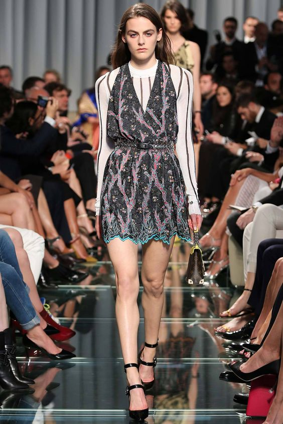 Louis Vuitton dress - worn by Pauline Ducruet: