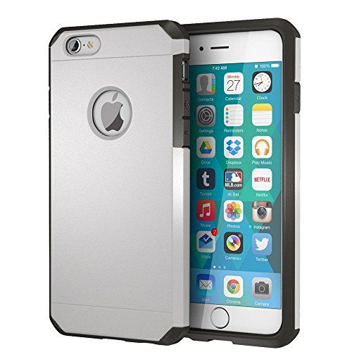 Iphone 6 6s Case Impactstrong Heavy Duty Dual Layer Protection Cover Heavy Duty Case For Apple Iphone 6 6s Silver Gift Options Showcase Iphone 6 Apple Iphone 6 Phone Case Accessories