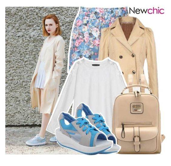 """Newchic"" by enola123 ❤ liked on Polyvore featuring moda ve vintage"