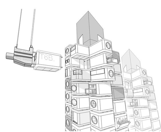 immeuble-architecture-modulaire-tokyo | architecture-urbanisme.FR