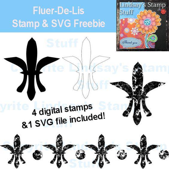 Fluer-De-Lis Freebie