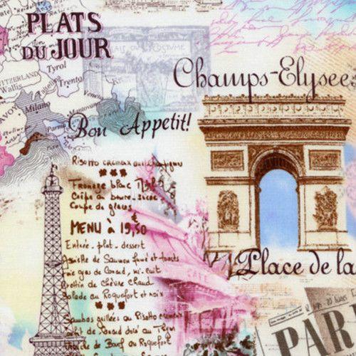 Best Images About Colorines On Pinterest Fat Quarters Quilt - Paris map quarters