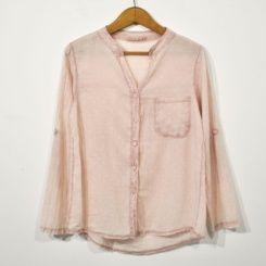 Camisa rosa estrellas