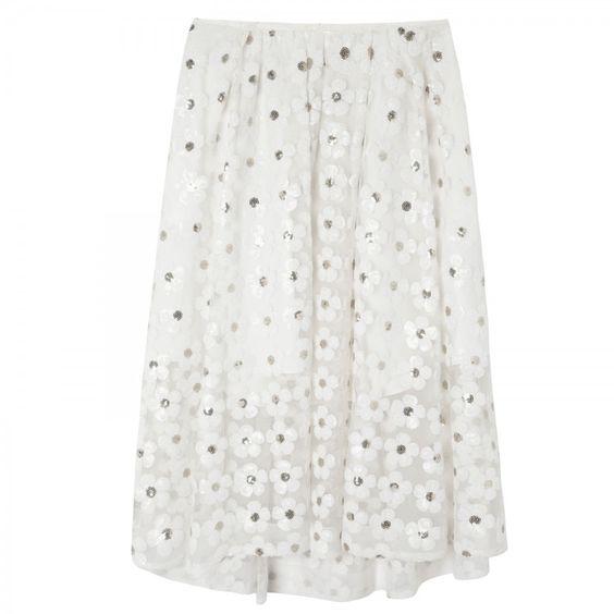 Daisy sequinned tulle midi skirt _IVOT_10 - modern