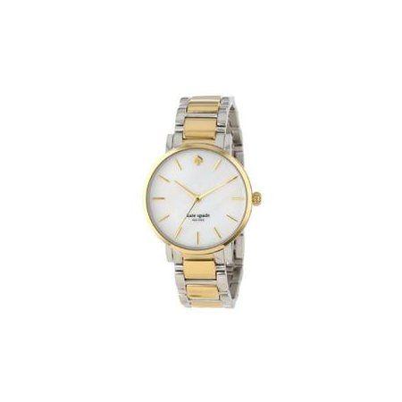 $306 kate spade new york Women's 1YRU0005 'Gramercy' Two-Tone Bracelet Watch - Rakuten.com