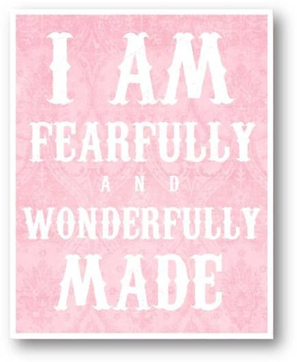 Psalm 139:14: Psalm 139, Psalms 139, God S, Thank You Lord, Fearfully Wonderfully Made, Little Girl Rooms, Baby Rooms, Girls Rooms, Kids Rooms