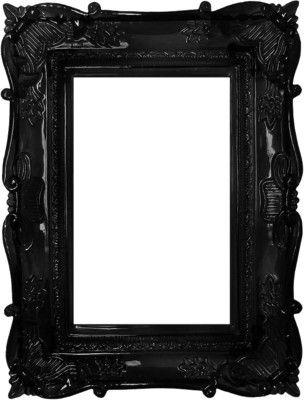 Black frame.