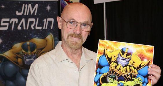 Jim Starlin, creator of Thanos and Kronos.