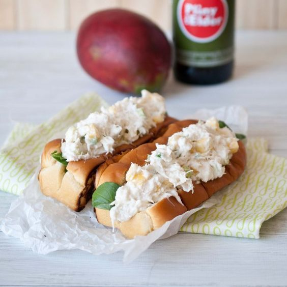 Hawaiian Crab Rolls. You want these in your face.