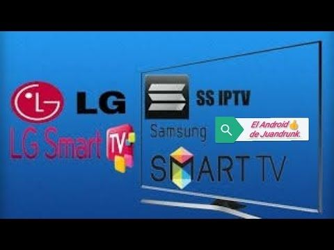 Aplicaciones Smart Tv Ssiptv Para Lg Y Sony Youtube Smart Tv Android Watch Fitness Watch