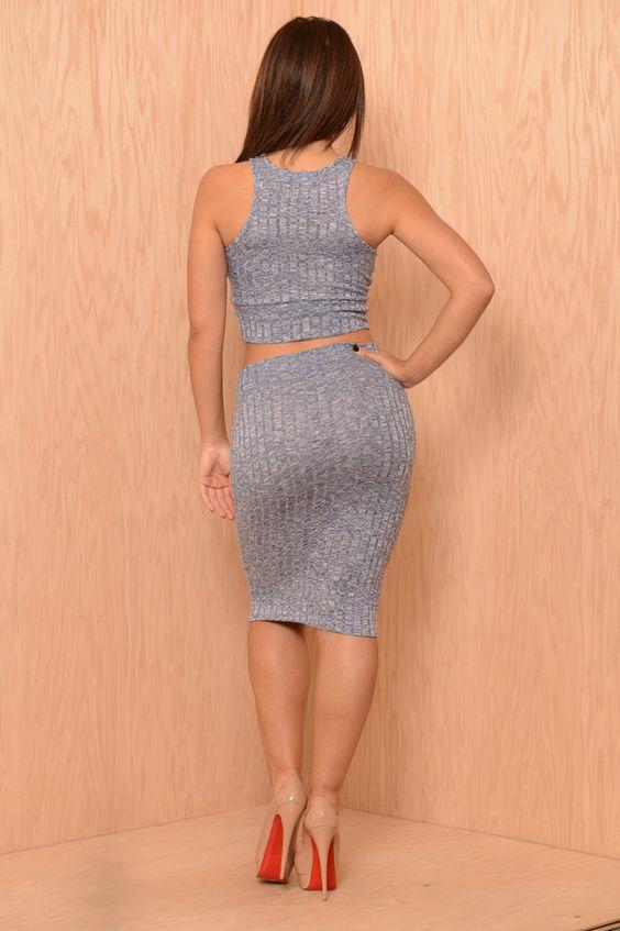 Cassidy Skirt - Navy