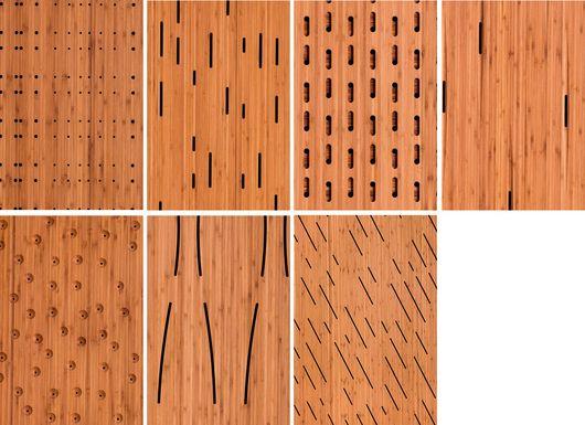 bamboo panel walls