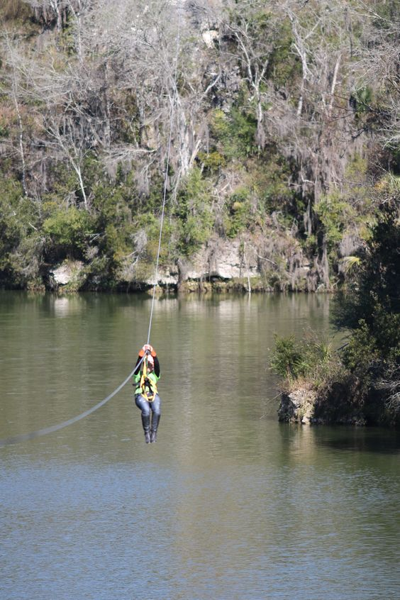 Zip line in Ocala