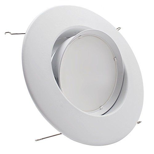 $23 - TORCHSTAR High CRI 10W 5/6inch Gimbal LED Recessed Light Retrofit Kit 75W Equivalent, Energy Star UL Classified Light Fixture, Directional LED Ceiling Down Light Fits Recessed Can 2700K Warm White/5000K Daylight - http://bit.ly/2e6ngdm -