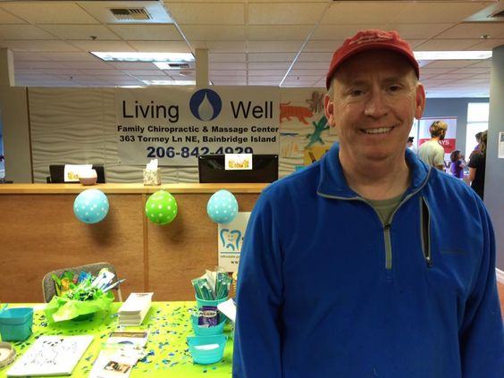 Happy client at Living Well Chiropractic