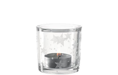 Leonardo Teelichthalter Stellato 10 Klar 4er Set Teelichthalter