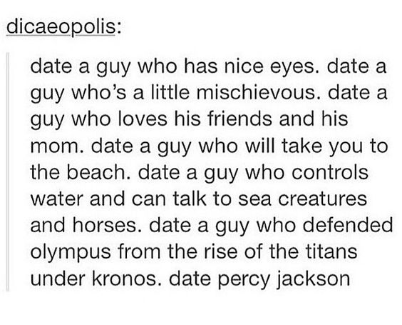 Date Percy Jackson: