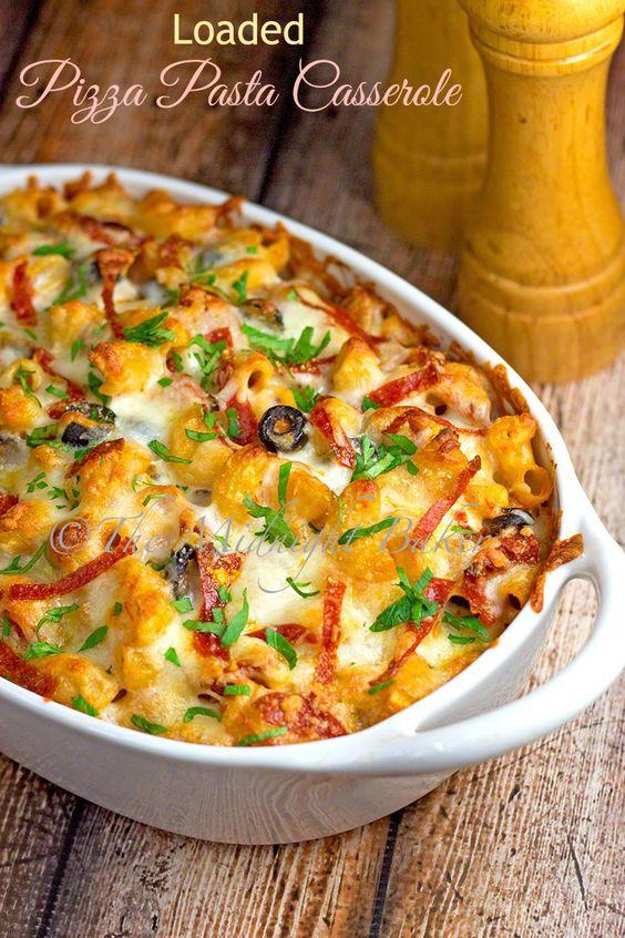 Pizza and pasta recipe