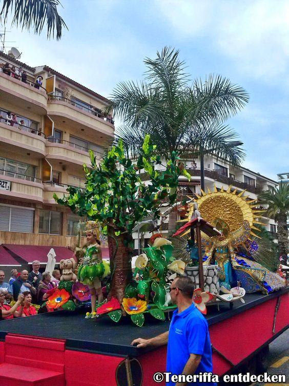 Der Karneval auf Teneriffa